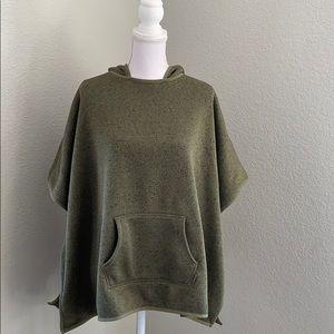 Eddie Bauer Sweatshirt Poncho